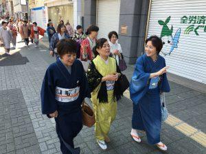 姫路きもの祭り 千姫行列