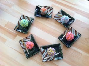 姫路きもの祭り、杵屋、和菓子作り体験